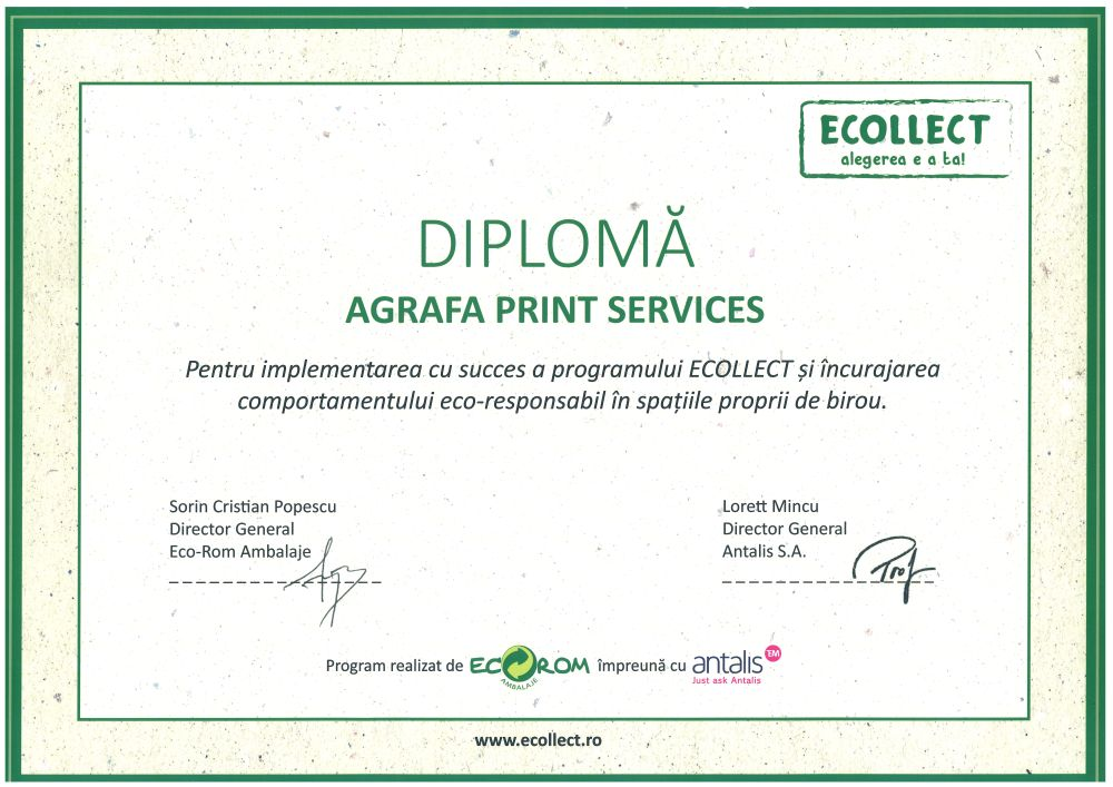 diploma Ecoollect