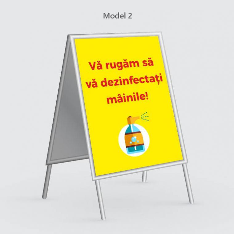 People stopper informare și prevenție COVID-19 A2 (420 x 594 mm)